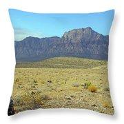 Nevada 2 Throw Pillow