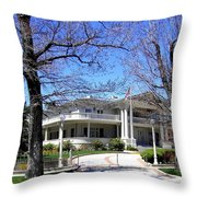 Nevada Governors Residence Throw Pillow