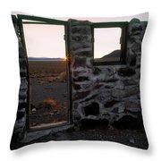 Nevada Pioneer History Throw Pillow