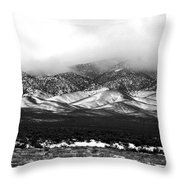 Nevada Snow Throw Pillow