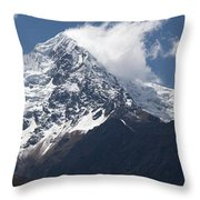 Nevado Veronica Or Willka Wiqi Panorama Throw Pillow