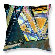 Never Ask Permission Throw Pillow