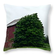 Never Find Me Behind Here Throw Pillow