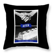 Never Give A Germ A Break Throw Pillow