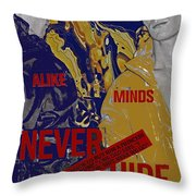 Never Hide Throw Pillow