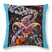 Never Lonely' Throw Pillow