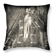 Never Neverland Captain Hook Throw Pillow