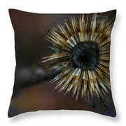 Never The End Throw Pillow