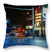 Never The Right Time Throw Pillow by Break The Silhouette