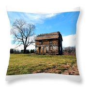 Never Too Late To Go Home Throw Pillow