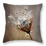 Never Weary Throw Pillow