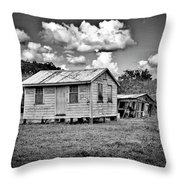 New And Old House Throw Pillow