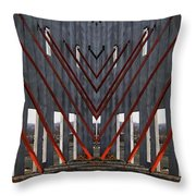 New Architectural Designs Throw Pillow