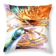 New Beginnings Abstract  Throw Pillow