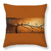 New Bloom By Madart Throw Pillow