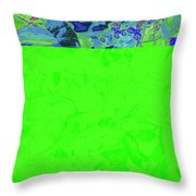New Bloom Orchid 11 Throw Pillow