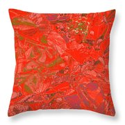 New Bloom Orchid 20 Throw Pillow