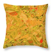 New Bloom Orchid 21 Throw Pillow