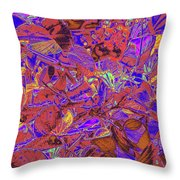 New Bloom Orchid 23 Throw Pillow