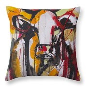New Breed Cow 3 Throw Pillow
