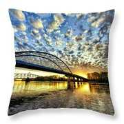 New Bridge Throw Pillow