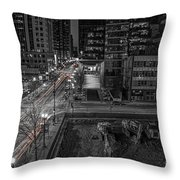 New Buildings On Old Streets Throw Pillow