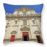 New Cathedral Of Coimbra Throw Pillow