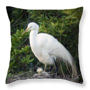 New Chick Throw Pillow