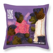 New Cubs On The Block Throw Pillow