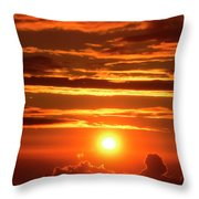 New Dawning Throw Pillow
