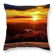 New  Day  Dawns Throw Pillow