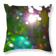 New Earth Vibe #10 Throw Pillow