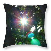 New Earth Vibe #4 Throw Pillow