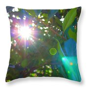 New Earth Vibe #9 Throw Pillow