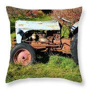 New England Ford Throw Pillow