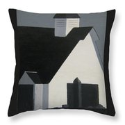 New England November Throw Pillow