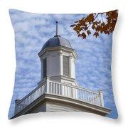 New England Steeple - Ridgefield, Connecticut Throw Pillow