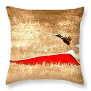 New Found Freedom Throw Pillow