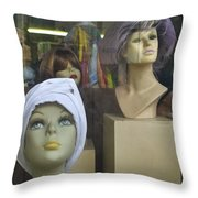 New Girl Throw Pillow