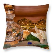New Glass And Seaglass Throw Pillow