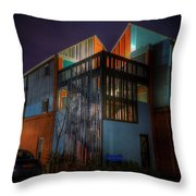 New Hall Stairwell Throw Pillow