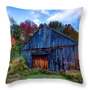 New Hampshire Barn Eaton Nh Throw Pillow