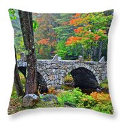 New Hampshire Bridge Throw Pillow