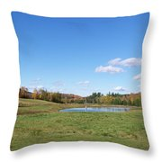 New Hampshire In The Fall 2 Throw Pillow