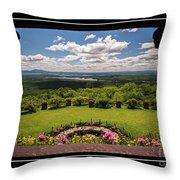 New Hampshire Lakes Region Throw Pillow