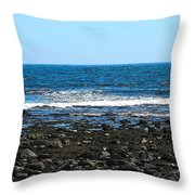 New Hampshire Seacoast Throw Pillow