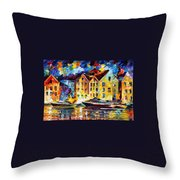 New Harbor Throw Pillow