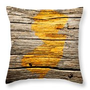 New Jersey 1w Throw Pillow
