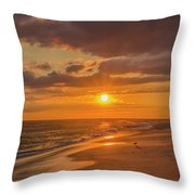 New Jersey Has The Best Sunsets - Cape May Throw Pillow