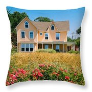 New Jersey Landscape Throw Pillow